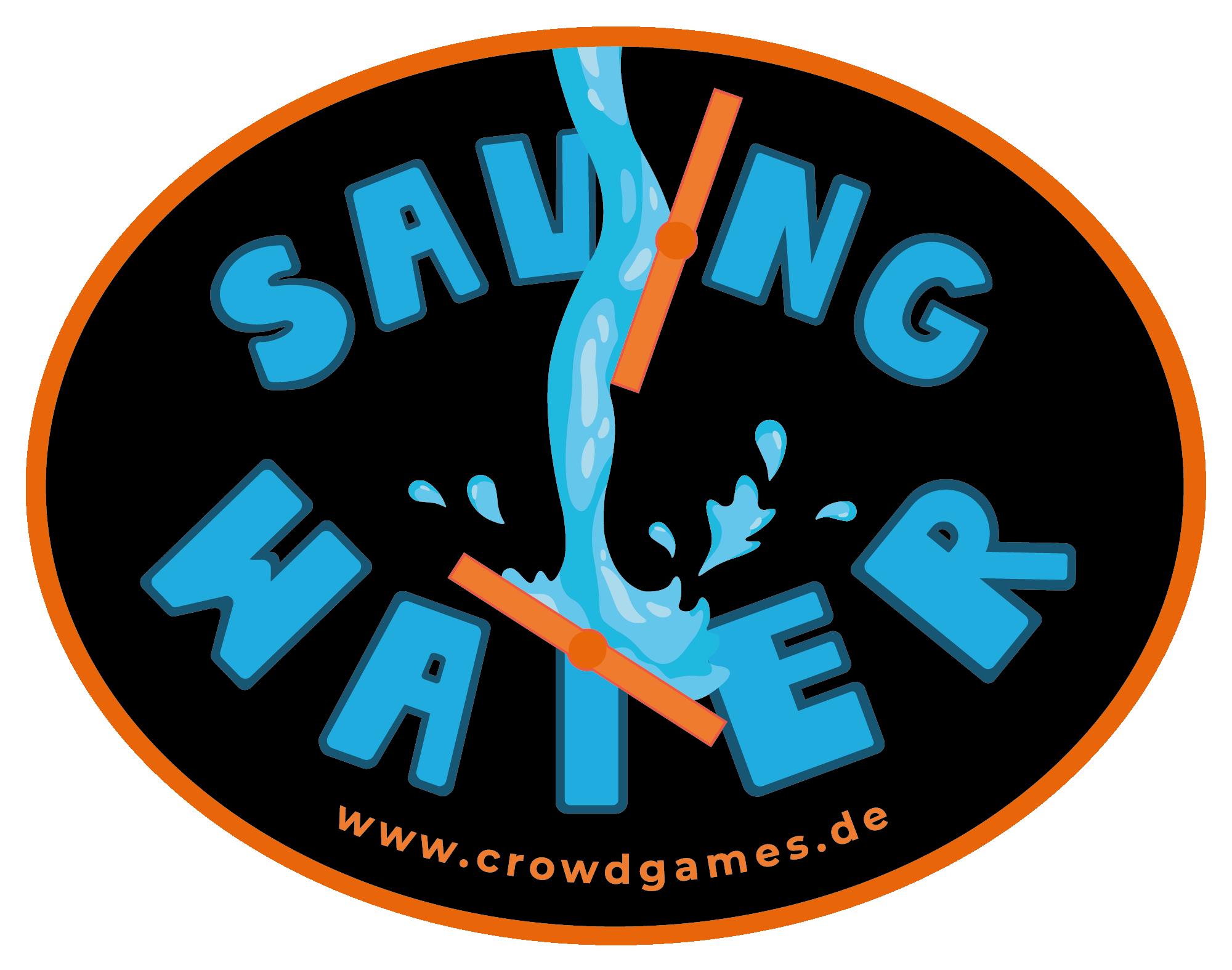 Saving Water Logo